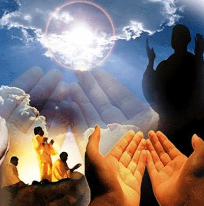 روش دعا و نیایش دینی