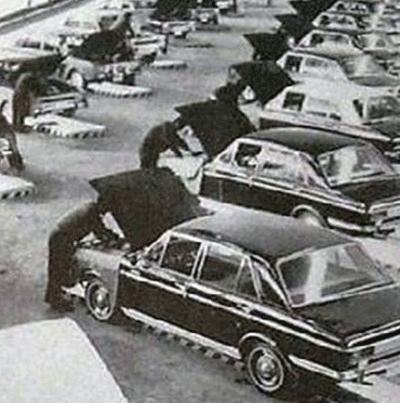 تاریخچه ایران خودرو