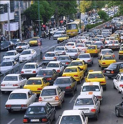 ترافیک شهر مشهد